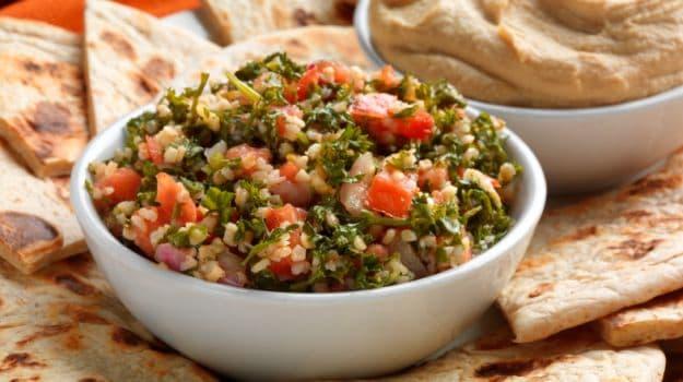 A popular lebanese salad