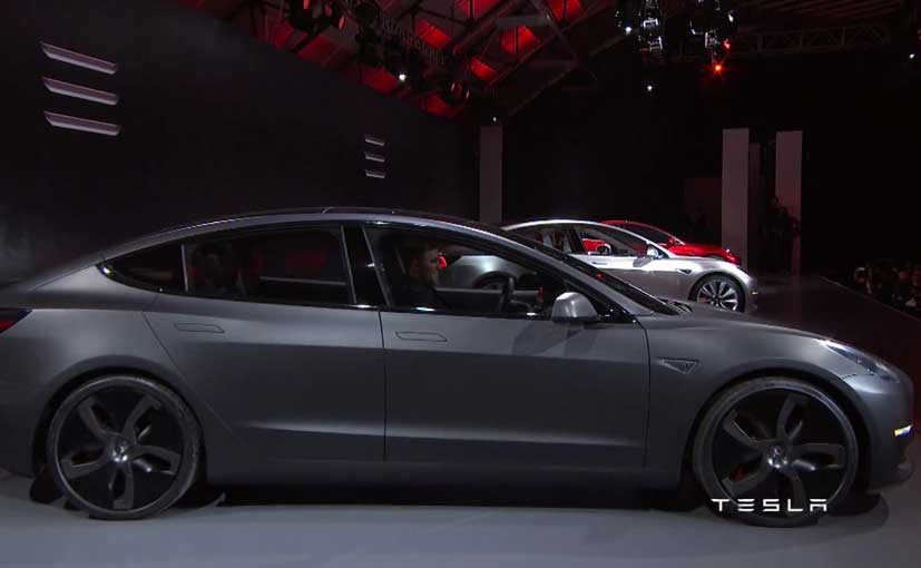 Tesla Model 3 Gray