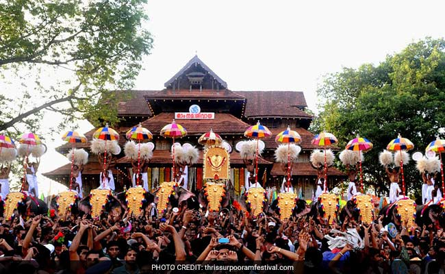 Thrissur Pooram, Huge Kerala Fest, Will Have Fireworks, Says Government