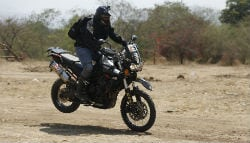 Triumph Conducts Tiger Training Academy in Pune