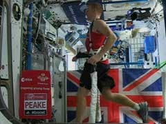 Astronaut Runs Marathon In Space - But Slower Than On Earth