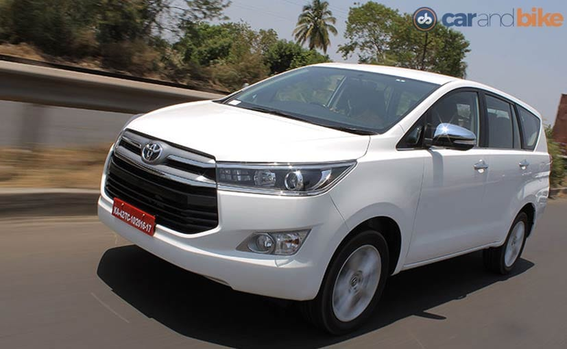 Toyota Innova Crysta Review Ndtv Carandbike