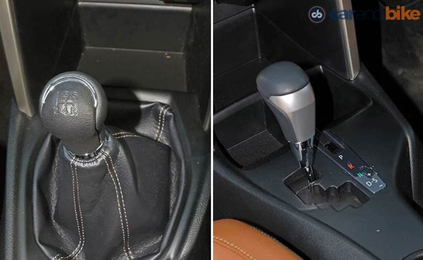 Toyota Innova Crysta Manual and Automatic Gearbox