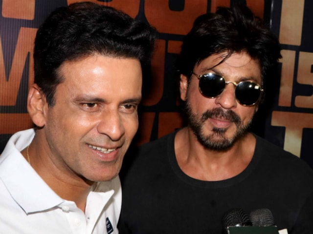 What Shah Rukh Says About His 'Childhood Friend' Manoj Bajpayee
