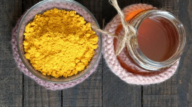 orange peel honey turmeric