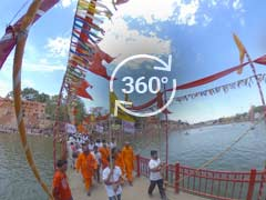 360-Degree View Of The Ujjain Kumbh Mela