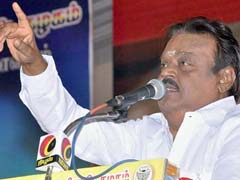 Vijayakanth Slams Karunanidhi For Aspiring To Be Chief Minister At 92
