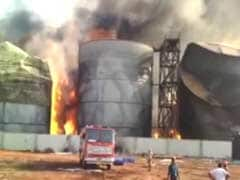 Massive Fire At Biodiesel Factory Near Visakhapatnam, 8 Tanks Still Ablaze
