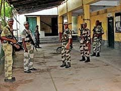 Heavy Security Deployment For Fifth Phase Of Bengal Elections