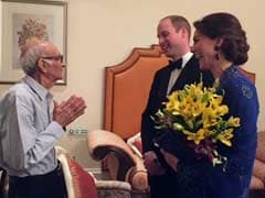 It Happened. 93-Year-Old Owner of Mumbai Restaurant Met Will and Kate