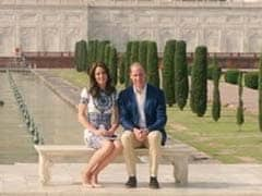 Will-Kate Visit Taj Mahal, Where Diana Famously Posed Alone