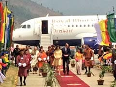 A Royal Encounter For Britain's William And Kate In Bhutan