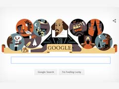 On William Shakespeare's 400th Death Anniversary, Google's Doodle Is A Paean To His Work