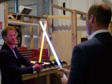 Prince William Met Star Wars 8 Cast. There Was a 'Lightsaber Battle'