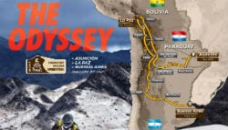 2017 Dakar Rally Route Revealed