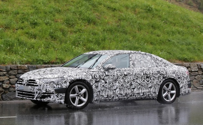 2018 Audi A8 Spotted During Cold Weather Testing - NDTV CarAndBike