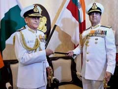 Admiral Sunil Lanba Takes Over As Chief Of Naval Staff