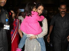 Cannes Done. Aishwarya Rai Bachchan Flies Home With Aaradhya