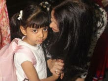 Aishwarya Rai Bachchan Flies to Cannes With Daughter Aaradhya