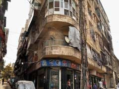 Life Behind Plastic In Syria's Window-Less City
