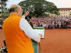 In Kerala, Amit Shah Says It's Time To 'Weed' Out Corrupt UDF Government