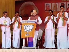 Tamil Nadu Polls: Amit Shah Labels Congress, AIADMK, DMK As Corrupt