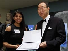 Indian Artist Wins Award At UN Poster Contest On Nuclear Disarmament