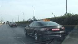 Audi A5 Sportback Caught Testing in India