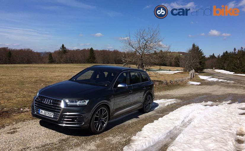 Audi Sq7 Review Ndtv Carandbike