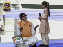 'Big B? No. I'm Smaller Than You,' Amitabh Bachchan Tells Schoolgirl