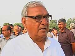 Bhupinder Singh Hooda Demands CBI Probe Into Rajya Sabha Poll Ink Controversy