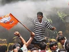 Delhi BJP Protests Outside Arvind Kejriwal House Against Water, Power Shortage