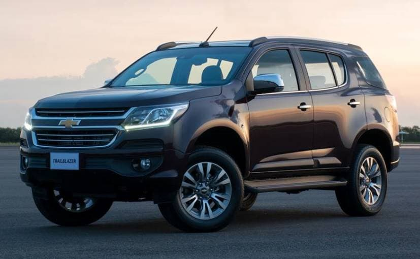 Chevrolet Trailblazer Facelift Imported to India for Homologation
