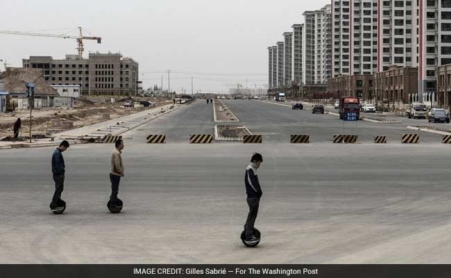 A City Built On Sand Is A Monument To China's Economic Problems