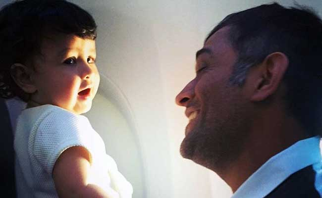 MS Dhoni's Daughter Is Daddy's Little Girl. These New Pics Prove It