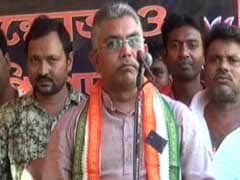 FIR Lodged Against Bengal BJP Chief Dilip Ghosh