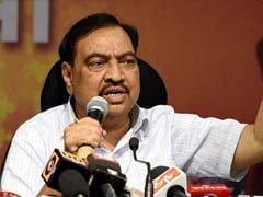 Eknath Khadse Asks Home Minister Rajnath Singh To Probe Charges Against Him