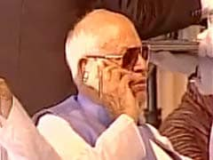 Farooq Abdullah Phone Use During Anthem Draws Rebukes