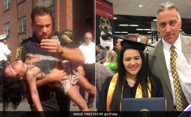 In 1998, He Helped Save Her After A Fire. In 2016, He Watched Her Graduate