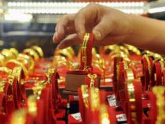 Gold, Silver Glitter On Diwali Demand