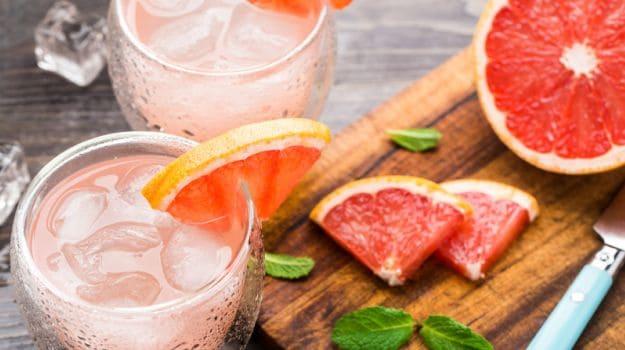 graprefruit juice