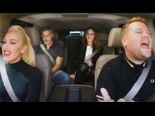 Don't Speak, Just Listen. Gwen Stefani and 'Surprise Guests' Sing in Car
