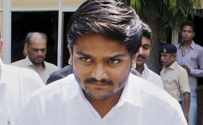 Image result for Patidar leader Hardik detained in Gujarat