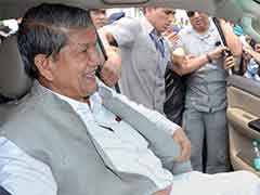 Harish Rawat Chairs First Cabinet Meeting After Revocation Of President's Rule