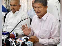 Ex-Uttarakhand Chief Minister Harish Rawat Accepts His 'Presence' In Sting CD