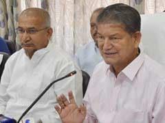 In Uttarakhand, No President's Rule For 2 Hours For Harish Rawat's Vote