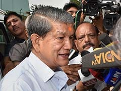 Harish Rawat Announces Rs 2 Lakh Compensation For Kin Of Cloudburst Victims