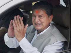Uttarakhand Chief Minister Harish Rawat At CBI Office For Questioning On Sting