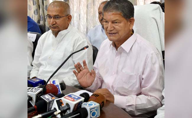 Ex-Uttarakhand Chief Minister Harish Rawat Accepts His 'Presence' In Sting Video
