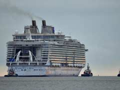 Barcelona, Ahoy! World's Biggest Cruise Ship Docks In Spain